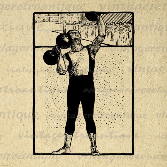 Poster Weights Etsy: Items Similar To Digital Printable Weight Lifting Graphic