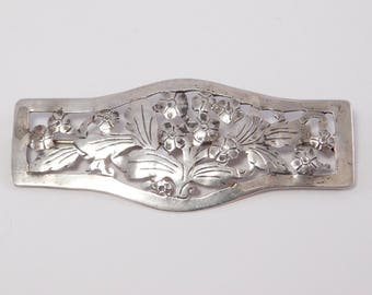 Arts And Crafts Silver Brooch By Stavre Gregor Panis