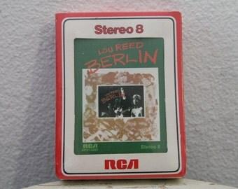 "SEALED - Lou Reed - ""Berlin"" 8 Track Cartridge"