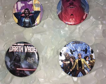Star Wars Found Objects Pins