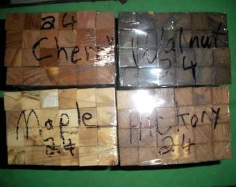 96 Turning Wood Pen Razor Blanks 24 Walnut 24 Maple 24 Cherry 24 Hickory