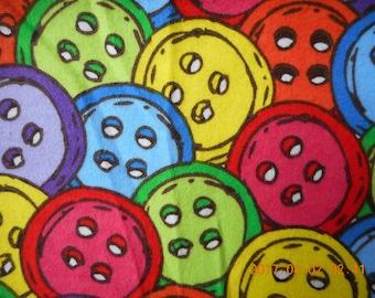 Buttons, Buttons Pillowcase