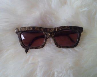 Tortoise Sunglasses Alain Mikli Made in France Sun Shades Retro Glasses 90s