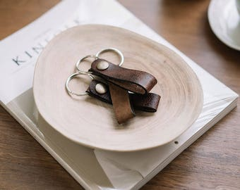 Leather Key Chain |  Key Fob | Key Ring | Leather Key Fobs | Leather Accessory