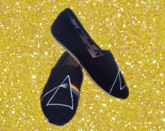 Pink Floyd Toms (prism toms) Dark Side Of The Moon. prism shoes.