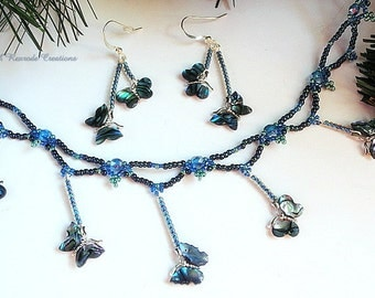 """Shop """"abalone shell"""" in Jewelry Sets"""