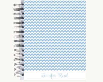 Daily Sidekick Planner – Personalized  | Monthly Calendar | To Do List | Hourly | Organizer | Agenda | Bound | Chevron