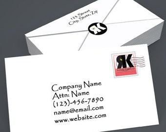 Custom creative business card playing card custom creative business card envelope reheart Images