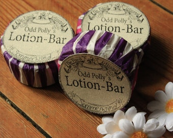 Odd Polly's lotion bar 50 gr. with Shea butter, natural cosmetics, body lotion, skin care