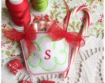 Letter S Machine Embroidery Monogram Basket - Machine Embroidery Design Instant Download Design