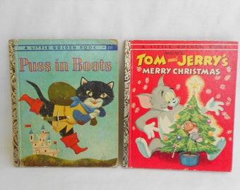 "2 Vintage ""Little Golden Books"""