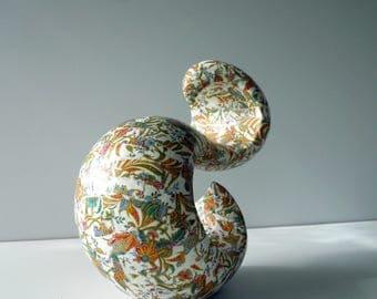 FULLNESS - organic form - paper mâché sculpture