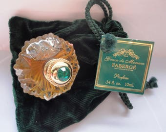 Faberge Princess Grace De Monaco Pure Parfum Perfume 0.34fl, 10ml, New