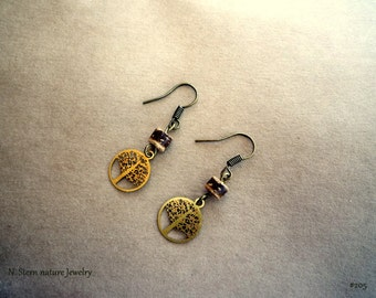 205# Small Tree Earrings