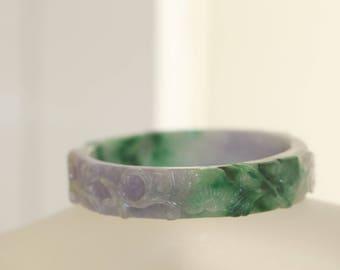 Vintage Jade Bracelet Asian Chinese Jewelry Jade Bangle Bracelet
