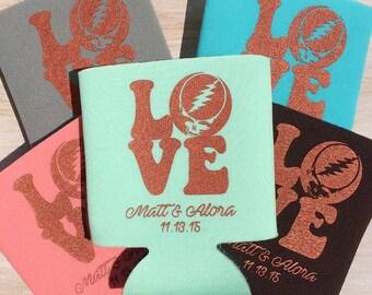 Grateful Dead LOVE Wedding, Rehersal Dinner, Bachelorette or Shower Favor