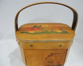 Vintage Wooden Box Purse