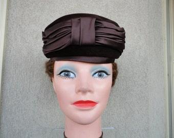 Brown Valerie Modes Vintage Hat