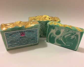 Mermaid Cold Process Handmade Soap
