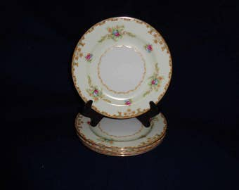 Vintage Sango by Regal Japan China 4 Bread and Butter Plates 6.25 inch