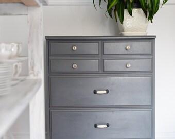 Tiny gray Dresser - Grey - Dawn creations