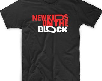 New Kids On The Block Logo T-Shirt Fan Inspired NKOTB Shirt New Kids Boy Band Shirt