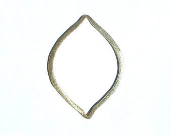 Marquis, Plated Copper Component, Earring Component, Jewelry Making Supply, Jewelry Finding, Hoop Earring