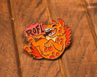 ROFL Hyena - Hard Enamel Pin