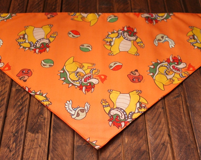 Extra Large Bandana with Velcro Closure - Bowser