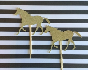 Kentucky Derby Party Decorations. Derby Shower. Cowgirl Party. Horse Cupcake Toppers. Equestrian Party. Horse Race Party. Pony Party.