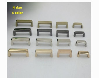20pcs  bags  belt screw connector buckle replacement  /D strap hardware accessories / arch bridge  belt handle connector Findings  KS-386