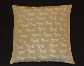 "Donghia Housepets Mid-Century Modern look - accent Pillow -  17"" X 17"""