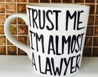 Choose your glass. Trust me I'm (almost) a doctor dentist lawyer. Law, Medical, Dental, Nursing, Teacher School Gift