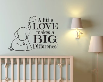 Nursery Wall Decal, Wall Decal, Wall Decals, Scripture Quote, Bible Wall  Decal