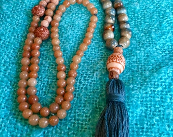 Earth Mother Zen Mala Necklace