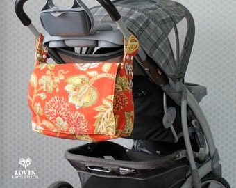 Diaper Bag - Stroller Bag - Wheelchair Bag - Stroller Caddy -Walker Bag - Stroller Organizer - Baby Bag -  Messenger Bag - Changing Bag