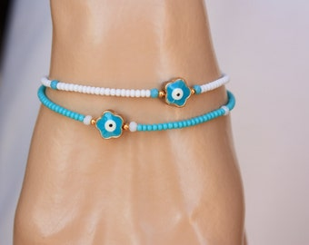 Evil Eye Friendship Bracelet, Lot of 6 Christmas Gift