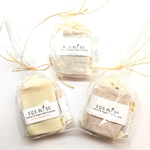 Gift Set Under 15 - Natural Soap and Lip Balm