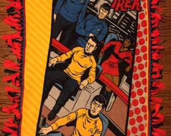 Star Trek Fleece Tie Blanket