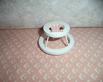 1:12 scale dollhouse miniature older girls baby walker