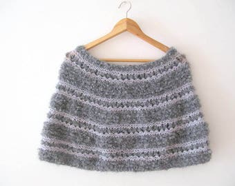 Capelet - Shrug - Cowl - scarf - Stole - Wrap -Shawl -crochet poncho- scarves collar -bolero