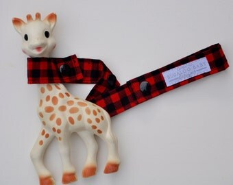Toy Leash / Toy Strap - Lumberjack - Buffalo Plaid