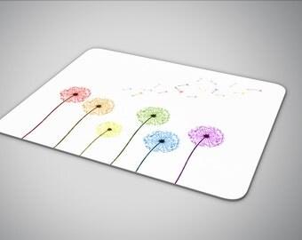 LGBT dandelions mouse pad