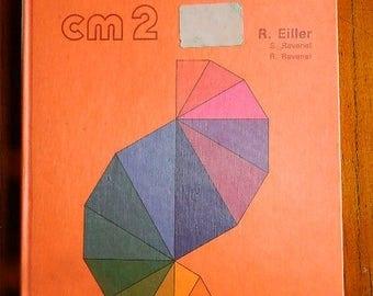 1981 Schoolbook math, calculation class cm2