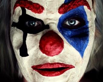 Creepy Clown Mask - Version 2