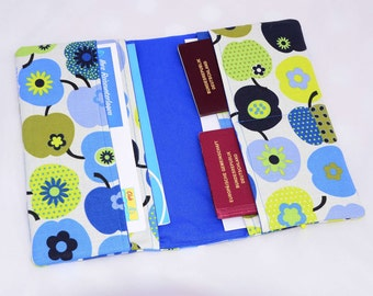 Travel case Blue Green Apple