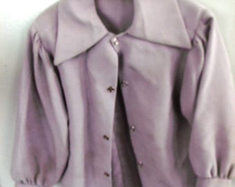 Sale................AUTHENTIC  NEW Handmade, AMISH Girl Toddlers Gray Satin Blouse , Chest 24""