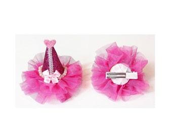 Minifascinator_Princess Hat_Dark Pink