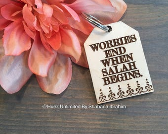 Islamic Keychain/Muslim keychain/Gift for Muslims/Zipper Pull/Quran verse charm/Muslim Gift/Muslim party favors/Backpack Pull/Islamic Gift