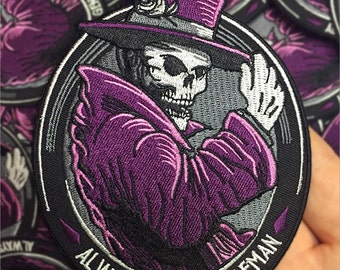 Embroidered Gentleman Ghost Patch